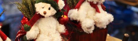 Joulunallet Porvoon joulumarkkinoilla