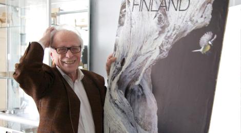 Erik Bruun Porvoossa Galleria Colmion näyttely