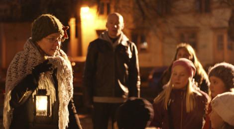Opastettu lasten joulukävely Vanha Porvoo