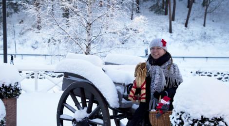 Jouluopastus Porvoossa