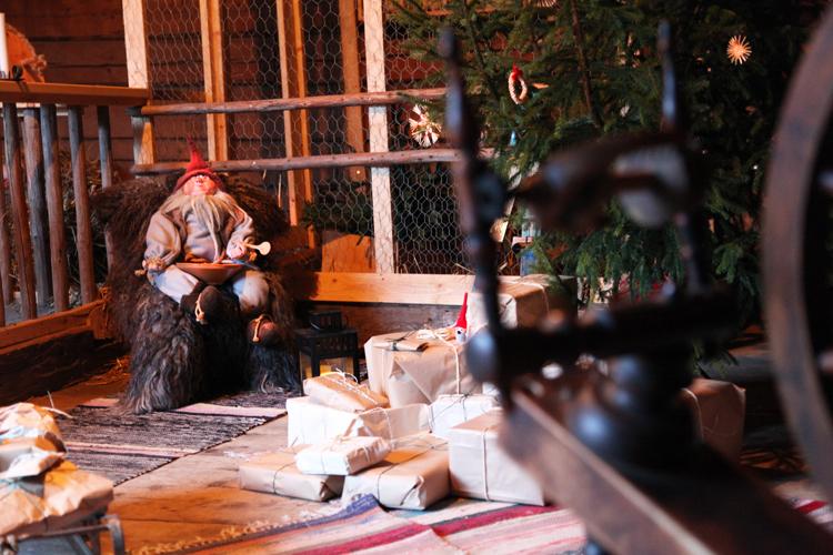 Runebergin kodin joulupolku 2014 tallitonttu