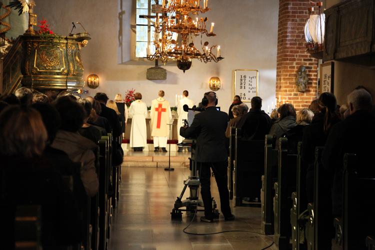 Joulukirkon sanajumalanpalvelus 25.12.2014 Porvoossa televisioitiin.