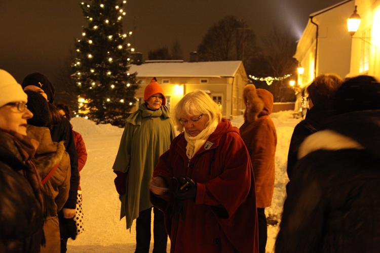 Porvoon Matkailuoppaat jouluopastus