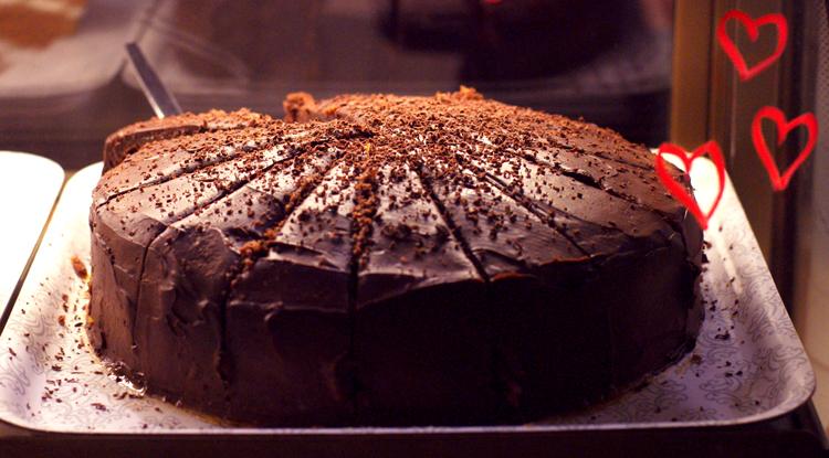 Cafe Fanny kakku