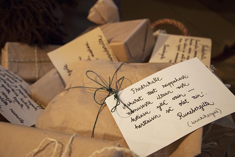 Runebergin kodin joulupaketit