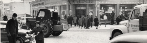 Laborin kulma 1960-luku Porvoo