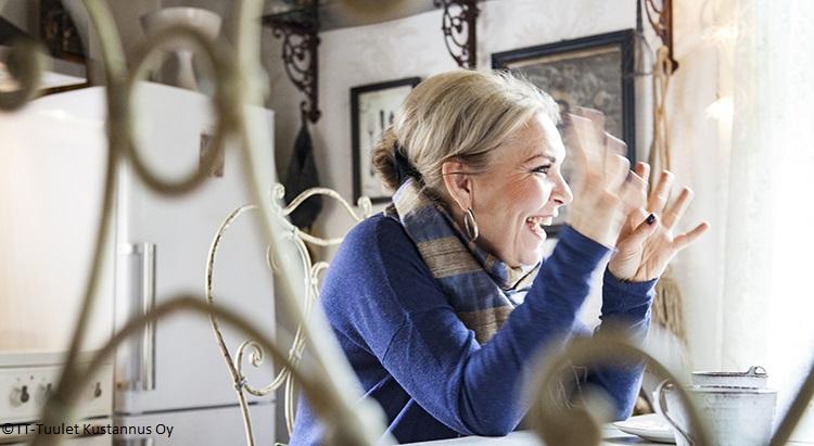 Marjo Lehtosalo Porvoon JouluTaika-lehden haastattelussa 2015.