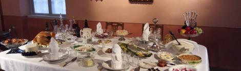 Porvoon museon joulupöytä à la Ville Vallgren 2017