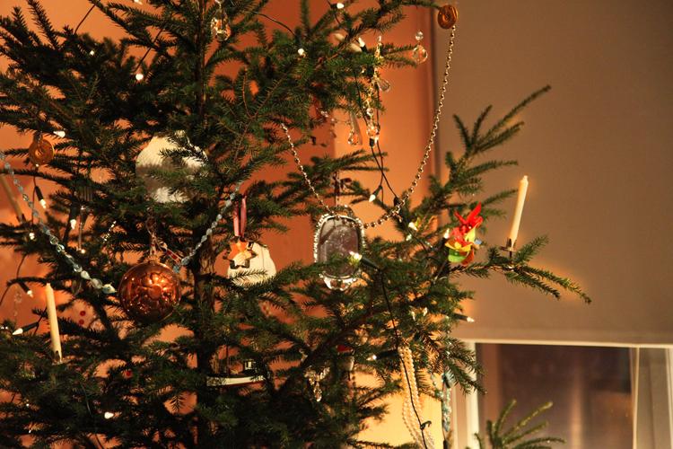 Porvoon museo Vanha raatihuone muumien joulukuusi