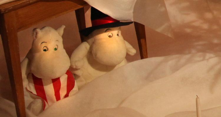Porvoon museo Vanha Raatihuone muumien joulu