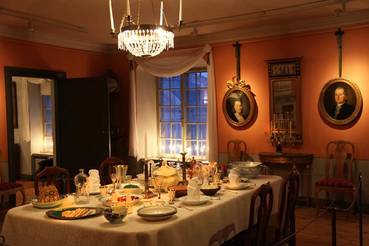Porvoon museon joulu Holmin talossa