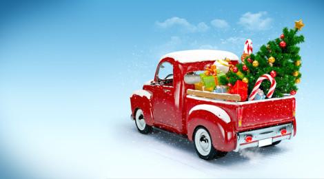Pysäköinti Porvoossa jouluna