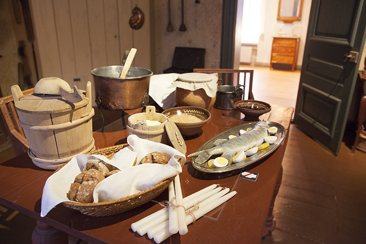 Holmin talon keittiö