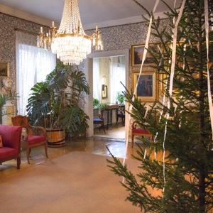 joulukuusi Runebergin kodissa