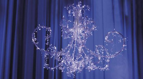 Joulun taikaa Porvoossa, kattokruunu, kuva Srba Lukic
