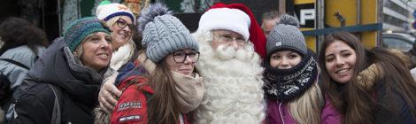 Joulupukki Porvoon joulunavajaiset 2019