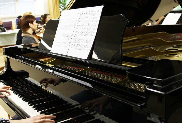 Nuoret solistit Porvoon musiikkiopistossa 2015